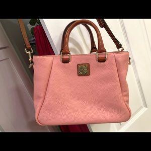 Pink dooney & bourke bag